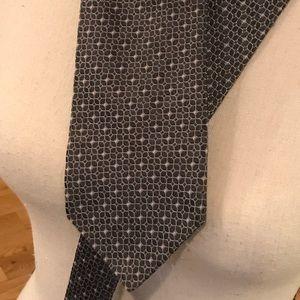 Silk print tie